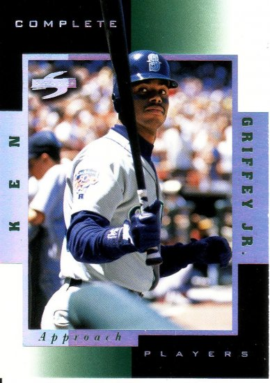 KEN GRIFFEY JR. 1998 SCORE ROOKIE TRADED COMPLETE PLAYER #1A SEATTLE MARINERS