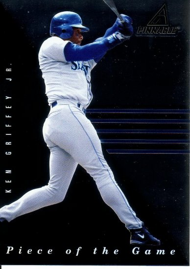 KEN GRIFFEY JR. 1998 PINNACLE PLUS PIECE OF THE GAME #1 SEATTLE MARINERS