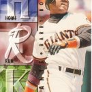 BARRY BONDS 1995 ULTRA HOME RUN KINGS #8 SAN FRANCISCO GIANTS