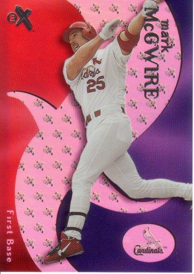 MARK McGWIRE 2000 EX #13 ST. LOUIS CARDINALS