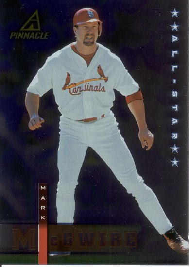 MARK McGWIRE 1998 PINNACLE PLUS #14 ST. LOUIS CARDINALS