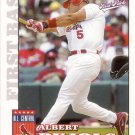 ALBERT PUJOLS 2006 UPPER DECK FIRST PITCH #178 ST. LOUIS CARDINALS
