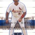 ALBERT PUJOLS 2002 HONOR ROLL #3  ST. LOUIS CARDINALS