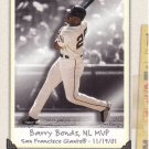 BARRY BONDS 2002 FLEER TRIPLE CROWN #248 SAN FRANCISCO GIANTS