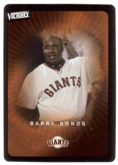 BARRY BONDS 2003 VICTORY #78 SAN FRANCISCO GIANTS