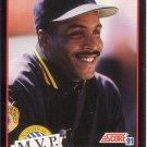 BARRY BONDS 1991 SCORE #876 PITTSBURGH PIRATES