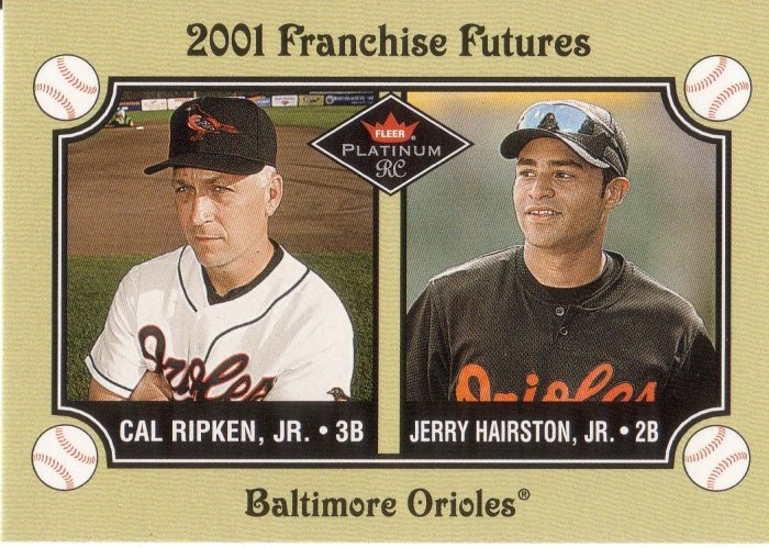 CAL RIPKEN JR. 2001 FLEER #472 BALTIMORE ORIOLES
