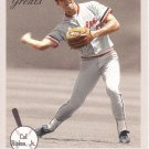 CAL RIPKEN JR. 2002 FLEER GREATS OF THE GAME #1 BALTIMORE ORIOLES