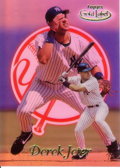 DEREK JETER 1999 GOLD LABEL #22 NEW YORK YANKEES