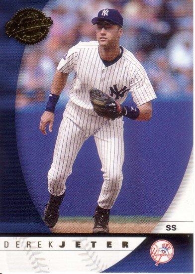 DEREK JETER 2001 DONRUSS CLASS OF 2001 #5 NEW YORK YANKEES