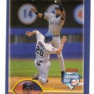 DEREK JETER 2003 TOPPS OPENING DAY PROMO (MINI) NEW YORK YANKEES