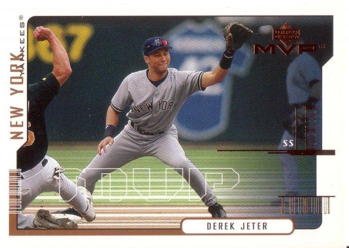 DEREK JETER 2000 MVP #210 NEW YORK YANKEES