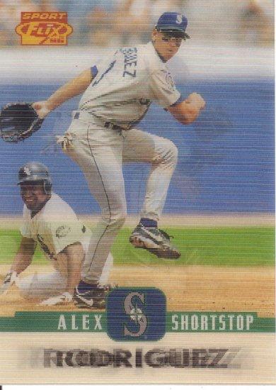 ALEX RODRIGUEZ 1996 SPORT FLIX #20 SEATTLE MARINERS