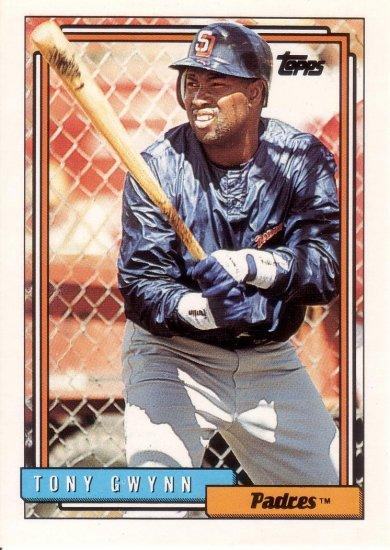 TONY GWYNN 1992 TOPPS #270 SAN DIEGO PADRES