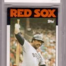 JIM RICE 1986 TOPPS #320 BCCG 9 NMT or BETTER BOSTON RED SOX