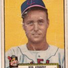 BOB KENNEDY 1952 TOPPS BLACK BACK #77A CLEVELAND INDIANS