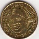 BARRY BONDS 1998 PINNACLE MINT BRASS COIN #03 SAN FRANCISCO GIANTS