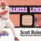 SCOTT ROLEN 2000 FLEER GAMERS GAMERS LUMBER #40 PHILADELPHIA PHILLIES