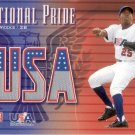 RICKIE WEEKS 2003 UPPER DECK USA NATIONAL PRIDE JERSEY #RW UNITED STATES