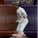 ALEX RODRIGUEZ 2003 TOPPS TOTAL TOTAL TOPPS #2 TEXAS RANGERS