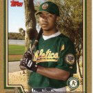 MARCUS McBETH 2004 TOPPS GOLD #314 SP# 0576/2004 ROOKIE OAKLAND ATHLETICS