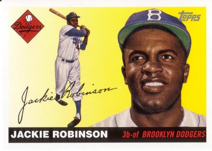 JACKIE ROBINSON 2005 TOPPS DEM BUMS #JR BROOKLYN DODGERS