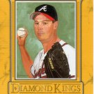 GREG MADDUX 2004 DONRUSS DIAMOND KINGS STUDIO SERIES #2 SP# 2187/2500 ATLANTA BRAVES