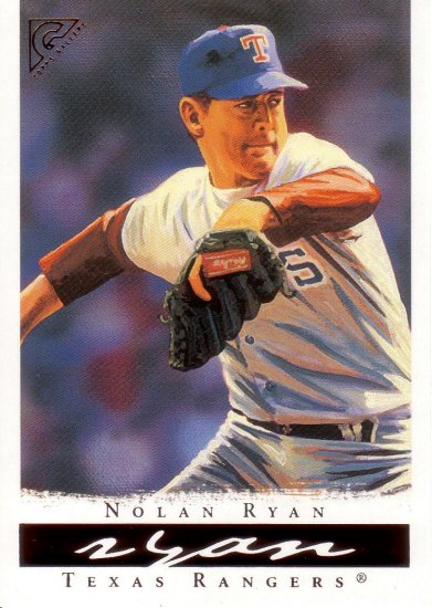 NOLAN RYAN 2003 TOPPS GALLERY HALL OF FAME GALLERY #15 TEXAS RANGERS