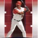 GARRET ANDERSON 2005 ABSOLUTE MEMORABILIA RED #16 ANEHEIM ANGELS