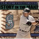 ICHIRO 2004 FLEER NATIONAL PASTIME HISTORY IN THE MAKING #14 SEATTLE MARINERS