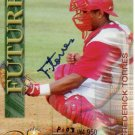 FREDERICK TORRES 2000 ROYAL ROOKIES FUTURES AUTOGRAPH #16 SP# P108/4,950 TEXAS RANGERS