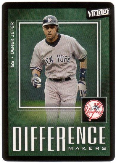 DEREK JETER 2003 VICTORY #191 NEW YORK YANKEES