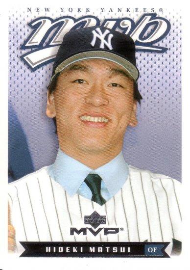 HIDEKI MATSUI 2003 MVP #141 ROOKIE NEW YORK YANKEES