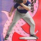 ADAM KENNEDY 2000 EX PROSPECT ROOKIE #74 SP# 2581/3499 ANAHEIM ANGELS