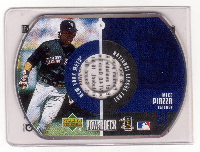 MIKE PIAZZA 1999 POWER DECK CD #6 NEW YORK METS