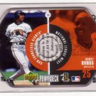 BARRY BONDS 1999 POWER DECK CD #19 SAN FRANCISCO GIANTS