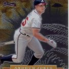 ANDRUW JONES 2000 TOPPS CHROME ALLEGIANCE #TA16 ATLANTA BRAVES