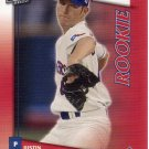 JUSTIN DUCHSCHERER 2002 DONRUSS FAN CLUB #205 ROOKIE TEXAS RANGERS