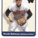 BROOKS ROBINSON 2001 GREATS OF THE GAME #22 BALTIMORE ORIOLES