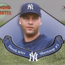 DEREK JETER 2002 FLEER TRADITIONS  DIAMOND TRIBUTES #3 NEW YORK YANKEES AllstarZsports.com
