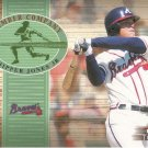 CHIPPER JONES 2002 FLEER TRADITIONS LUMBER COMPANY #7 LC ATLANTA BRAVES AllstarZsports.com