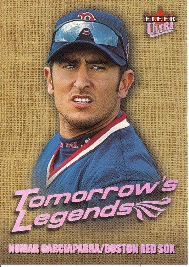 NOMAR GARCIAPARRA 2001 ULTRA TOMORROW'S LEGENDS #15 TL BOSTON RED SOX AllstarZsports.com