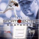 TIM HUDSON 2005 UD ESPN SPORTS CENTER SWATCHES JERSEY #GU-TH OAKLAND ATHLETICS AllstarZsports.com