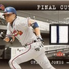 CHIPPER JONES 2001 FLEER GENUINE FINAL CUT JERSEY #12 ATLANTA BRAVES AllstarZsports.com