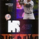 GARY SHEFFIELD 2005 LEATHER & LUMBER BIG BANG JERSEY #BB-12 154/250 YANKEES AllstarZsports.com
