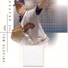 TOM GLAVINE 2001 SP GAME USED EDITION AUTHENTIC FABRIC #ToG ATLANTA BRAVES AllstarZsports.com
