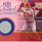 SCOTT ROLEN 2001 GOLD LABEL  AWARD CEREMONY RELICS 1997 R.O.Y. #GLR-SR PHILLIES AllstarZsports.com