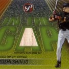 TSUYOSHI SHINJO 2002 TOPPS PRISTINE IN THE GAP GAME-USED BAT #IG-TS S.F. GIANTS AllstarZsports.com