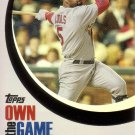 ALBERT PUJOLS 2007 TOPPS OWN THE GAME #OTG13 ST. LOUIS CARDINALS AllstarZsports.com