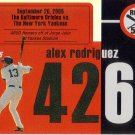 ALEX RODRIGUEZ 2007 TOPPS AROD ROAD TO 500 #ARHR426 NEW YORK YANKEES AllstarZsports.com